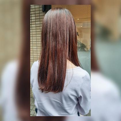 🌿N.シアカラー+髪質改善トリートメント