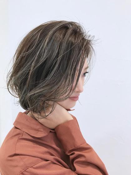 🌈❤️💜カット➕イルミナカラー➕髪質改善トリートメント➕バングカット➕ブロー料金込み❤️💜🌈