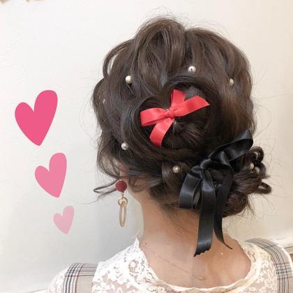 ジャニーズイベント ジャニヲタさんたちお待ちしてます! もちろん、ほかのヲタクイベントでも 可愛くします❤︎ 隠しきれないヲタク ヲタク美容師 ❤︎ヲタク美容師❤︎のヘアアレンジ