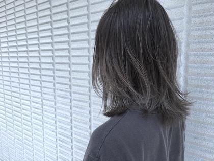 【 ハイライト × グラデーション・バレイヤージュ 】  ハイライト と グラデーション・バレイヤージュ を組み合わせるとスタイルのクオリティが一気にあがります ♪  高江秀聡のヘアスタイル・ヘアカタログ