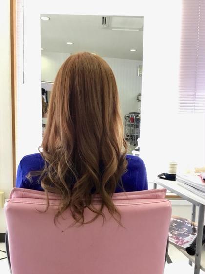 コスメパーマ+髪のサプリメント+カット+トリートメント☆ナノスチーム付き☆