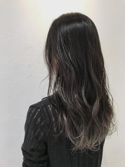 ❣️5月限定❣️✨ちょっとお洒落な裾カラー&髪質改善トリートメント&ブロー料金込み&バングカット込み✨
