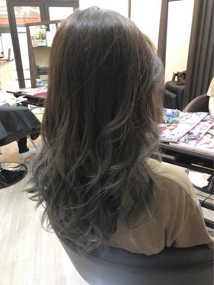 ✨外国人風グラデーションカラー✨+髪質改善トリートメントPPT補修