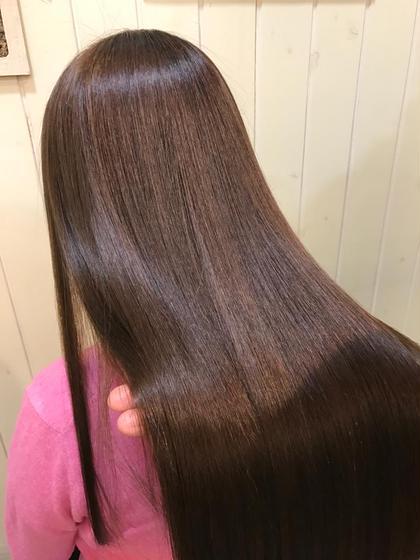 カット & 縮毛矯正 & ✨艶髪✨トリートメント