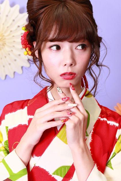 浴衣に似合うカラー gelire creative hair所属・太田翔のスタイル