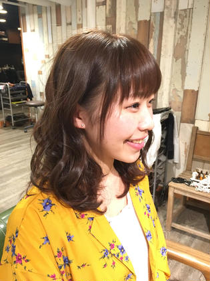 polku hair&nail所属・牧野 智織のスタイル