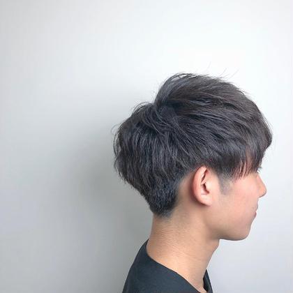 爽やかな刈り上げstyle 坂本広大のメンズヘアスタイル・髪型