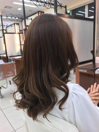 ⭐︎ダメージレス‼️イルミナカラー⭐︎カット &夏色カラー&夏用ホームケアセット