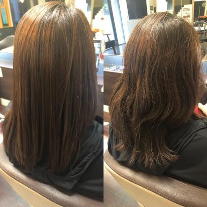 🌈最新髪質改善トリートメントグロスショット🌈