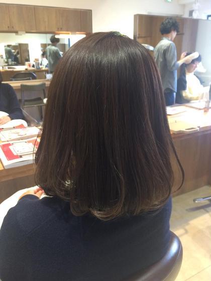 【#アオハル】🌟前髪カット&根元カラー&最高級オージュアトリートメント🌟