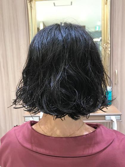 セット楽チンパーマ Ash 中野坂上店所属・加茂悠太のスタイル