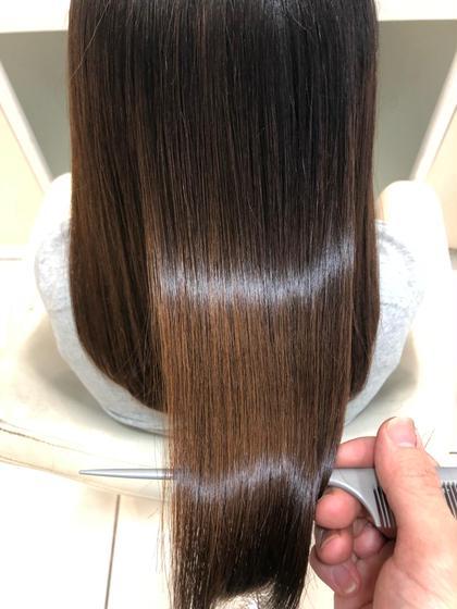 ✔️【広がりを抑えたい方はこちら❣️】髪質改善縮毛矯正🌟酸熱トリートメントストレート✨ノーダメージ縮毛矯正❤️