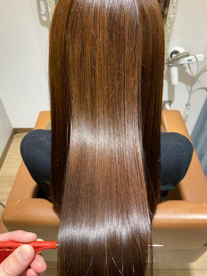 🌟今月末まで🌟3名限定モニター価格‼️髪質改善酸熱トリートメント💙