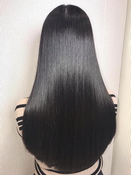 💝髪質改善縮毛矯正💖➕カット➕ケアトリートメント➕ヘッドスパ