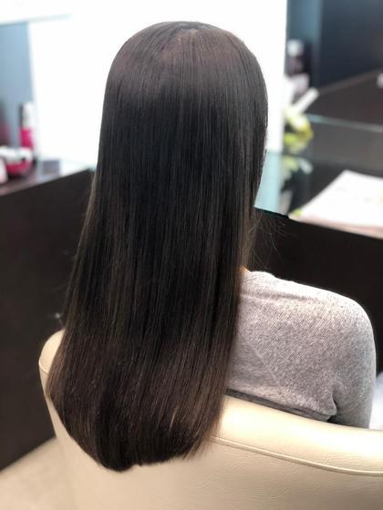 今話題の髪質改善ストレートパーマコース✨アフターケア付き✨