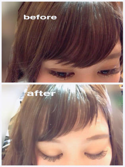 🐾前髪カット