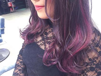 pink × lavender フリーランス美容師所属・🎀miyu/ピンク×ラベンダーのスタイル
