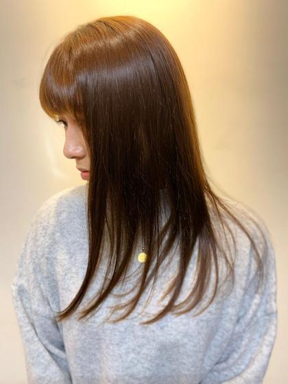 【ミニモ限定&1月まで使用可】✨似合わせ&艶髪カット+トリートメント+シャンプーブロー✨