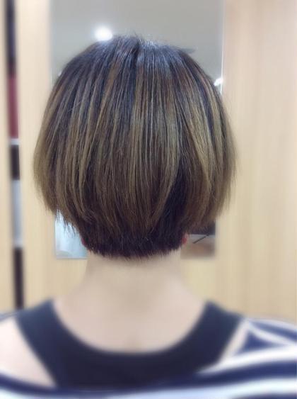 HAIR CUT SALON 〜ciao!〜所属・竹浪晴菜のスタイル
