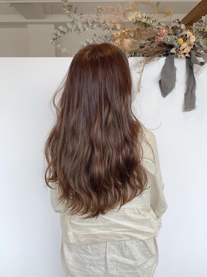 【ダメージ94%オフ】  ❤️ダメージレスカラー(全体カラー)⭐︎  ダメージで髪の毛がパサパサしている方にオススメ❣️
