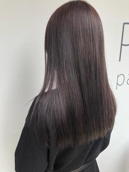 【ご新規様】似合わせカット+カラー+大人気oggiotto髪質改善トリートメント(3step)SB込み