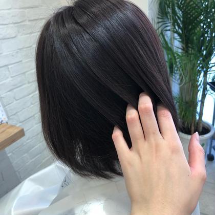 🦢超音波トリートメント🌿似合わせ前髪カット🦢