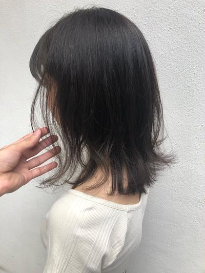 【2〜4回目】カット & アディクシーカラー & aujua sh&tr