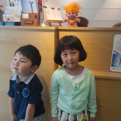 お子さんは、5歳迄1500円、小学生以外3000円 LOOPS Plaza所属・トノサキアヤコのスタイル