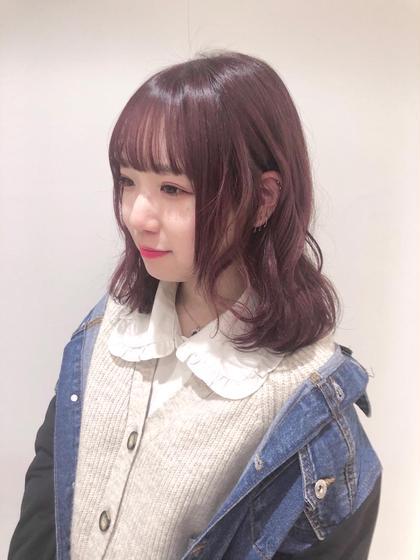 ✨1日3名限定✨【人気No. 1🌟】💗✨似合わせカット+✨ブリーチなし透明感カラー+✨すっきり炭酸トリートメント