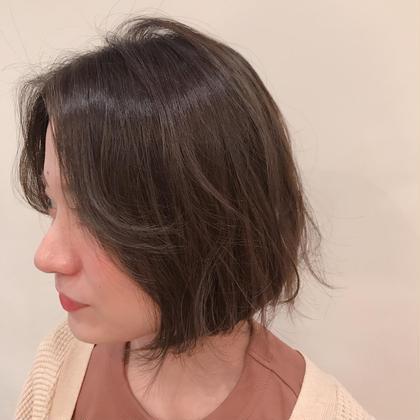 【おすすめ🌿】透明感*アディクシーcolor & cut +頭皮スッキリ炭酸泉付き