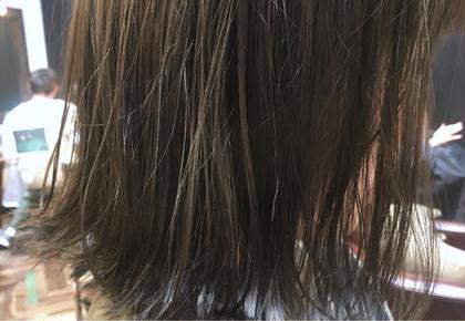 カラー 【 イルミナカラー × シアーグレージュ 】  ポイントは 透明感 と 柔らかさ ♪