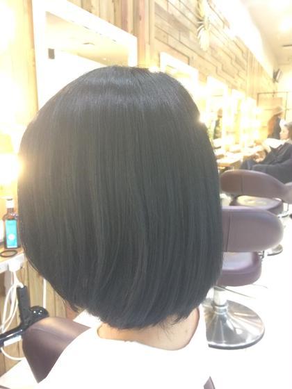☆ボブスタイル☆ 〜うるツヤ 極上黒髪〜 luck辻堂所属・西田望のスタイル