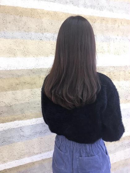 透明感抜群♡ヘアカラー