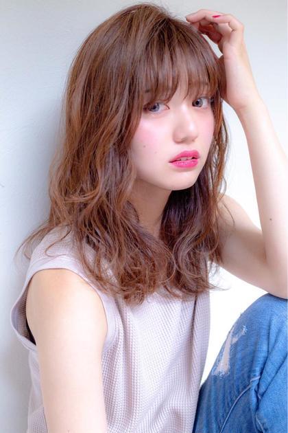 ☀️朝楽メニュー✨前髪パーマ+カット+トリートメント✨前髪カールでコテ巻き不要に🌈