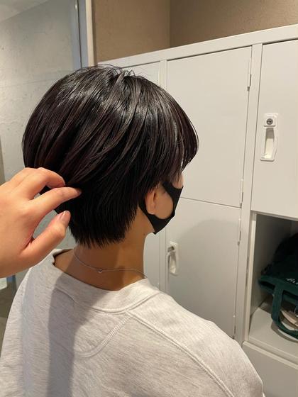 小顔カット+選べる髪質改善シャンプー