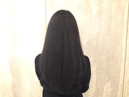 ダークアッシュ 暗くてもアッシュがしっかりあるカラー♡♡♡ ウォーレン・トリコミ所属・松井悠実のスタイル