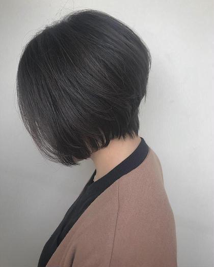 ダークグレージュ✨ハイウエイトグラ✨ Hair Make Ash所属・大山晃介のスタイル
