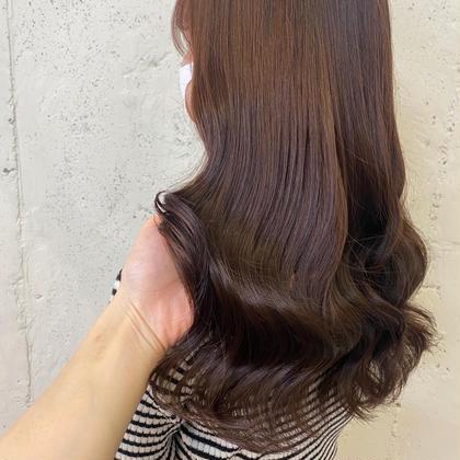 ❤️人気No.1❤️話題の髪質改善のトリートメント+デザインカラー