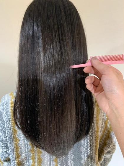 ✨髪質改善しながらダメージレスなカラーをしたい方✨ダメージレスフルカラー+oggiotto✨リタッチ可能です✨