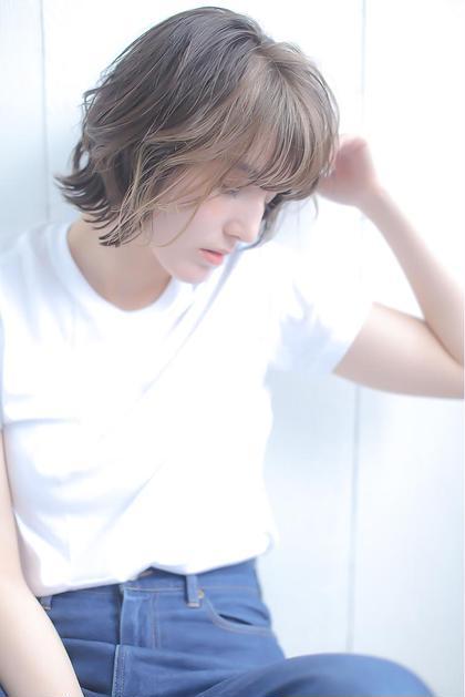 【今話題🌿】透明感イルミナカラー+骨格修正カット+選べるトリートメント❤️髪色、髪質改善❤️