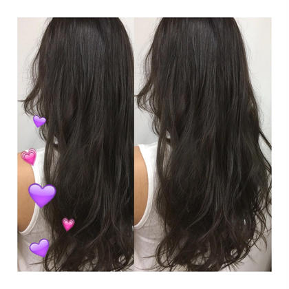 dark grayge❤︎ グレージュカラー 色落ちの過程も楽しめます☺︎ kiki hairworks所属・村上紗英のスタイル