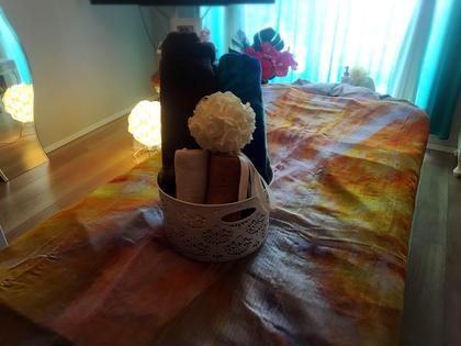 ゆったりのんびり 気楽にリラックス~深呼吸しにいらしてくださいね🌺 Okasalon所属・岡本紗知のフォト