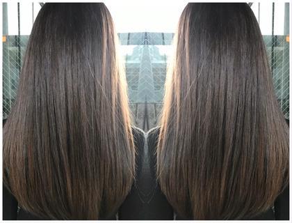 艶髪自然ストレート&完全補修型トリートメント