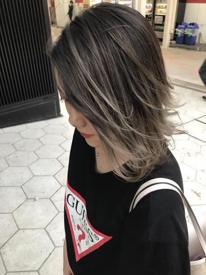 加納亮哉のミディアムのヘアスタイル