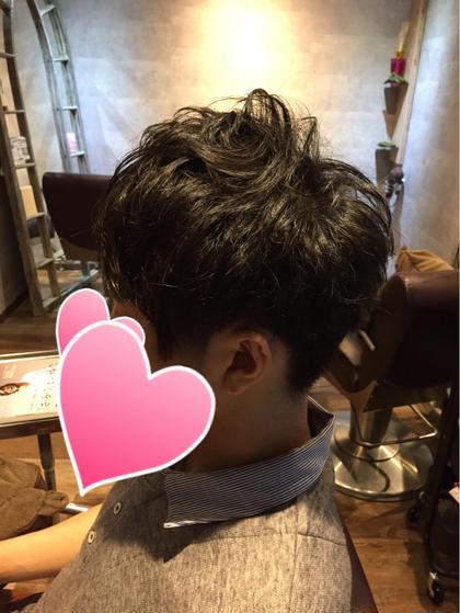 刈り上げマッシュスタイル トップは軽めにワックスで動きが出るように 襟足、サイドは刈り上げでスッキリ hairresort  Ai所属・豊里美希のスタイル