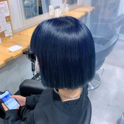 【🐷🐷🐽ハイトーン初挑戦の方是非🐷🐽🐽】ダブルカラー+髪質改善トリートメント💕ブリーチアリ💕派手髪カラー