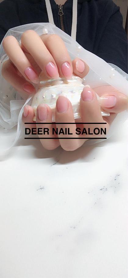 健康的な気血色+コーティング。清潔感100% ネイルカラーNGの会社にバレない おしゃれの秘密 ディア所属・DeerNailSalonのフォト