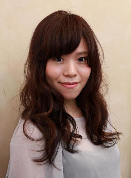 大人チョコブラウン coupe hair所属・田邊仁美のスタイル