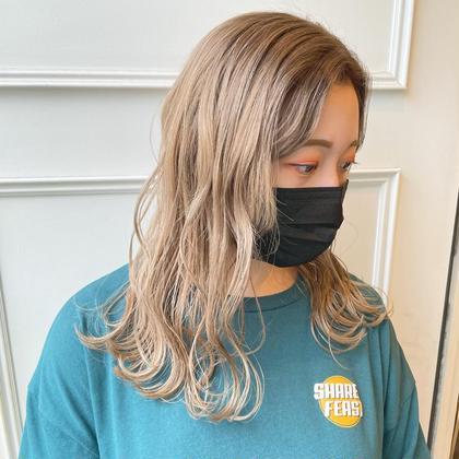 💭ケアブリーチカラー×髪質改善トリートメント💭