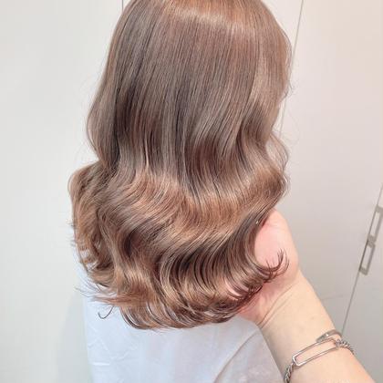 💟カラー+髪質改善トリートメント💟モデルのようなサラサラヘアに💟艶髪💟炭酸スパ付き💟シャンプブロー込み💟